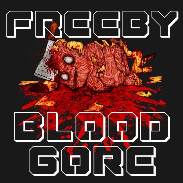 BAD_Blood Gore Violence Artwork