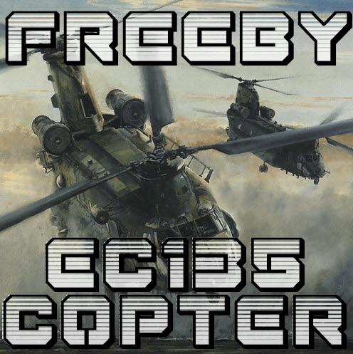 BAD_EC135 COPTER Artwork